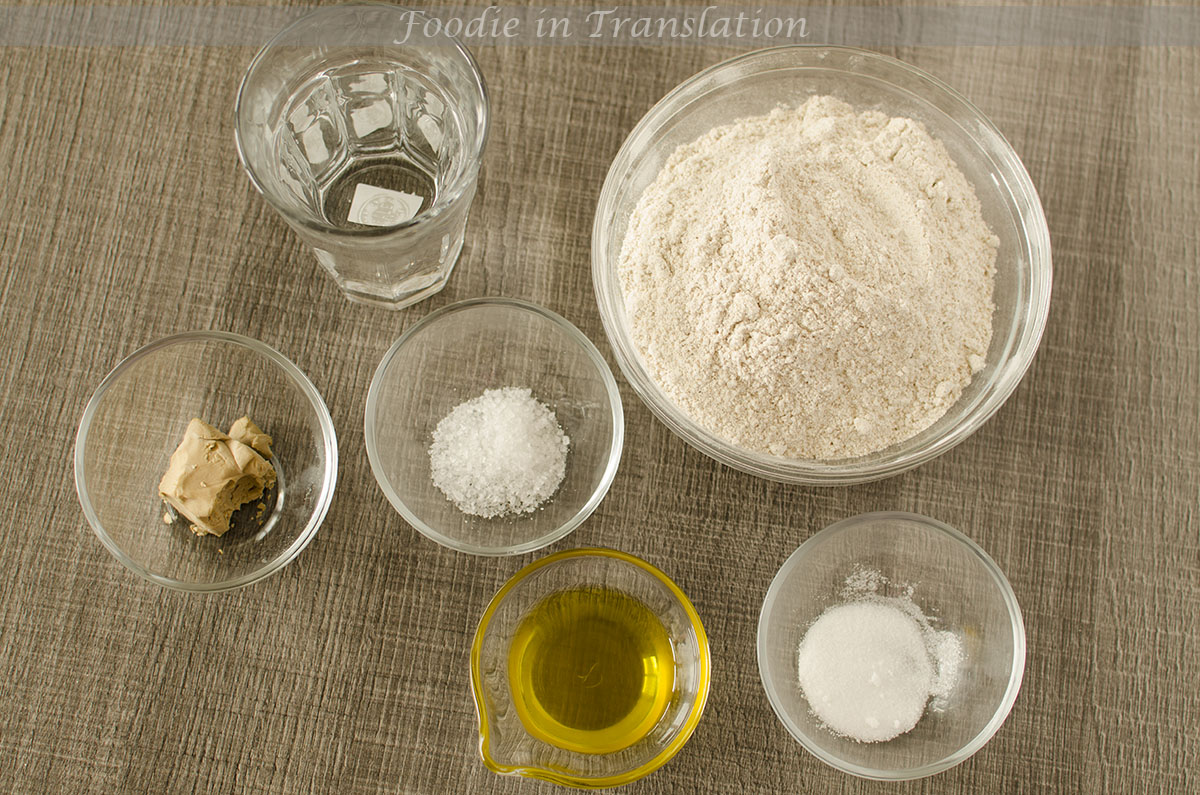 Impasto per pizza con farina integrale_step1